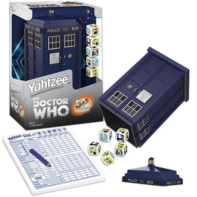 Click to get Doctor Who Yahtzee Game