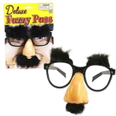 Click to get Fuzzy Puss Disguise Glasses