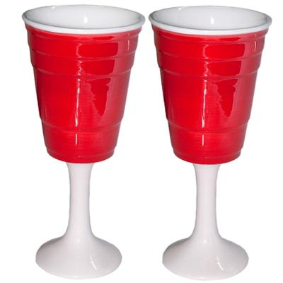 Click to get Red Solo Cup Wine Glasses