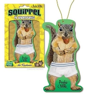 Click to get Squirrel in Underpants Air Freshener