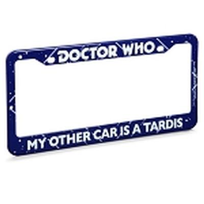 Click to get Doctor Who My Other Car is a Tardis License Plate Frame