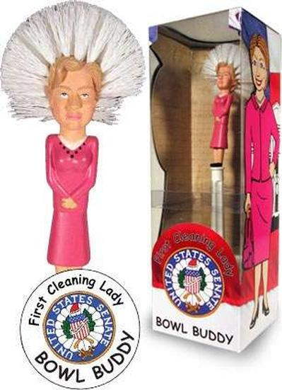 Click to get Hillary Clinton Toilet Brush