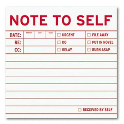 Click to get Note To Self Sticky Notes
