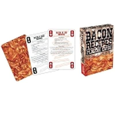 Click to get Bacon Recipes Playing Cards