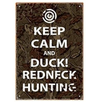 Click to get Keep Calm Hunting Tin Sign