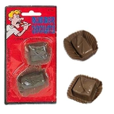 Click to get Rubber Chocolates Prank