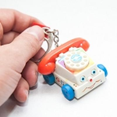 Click to get Fisher Price Chatter Telephone Keychain