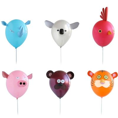 Click to get Animalz Balloon Kit  Set of 6