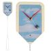 Fly Swatter Wall Clock