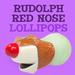 Rudolph's Red Nose Lip Pops