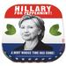 Hillary for Peppermint Mints